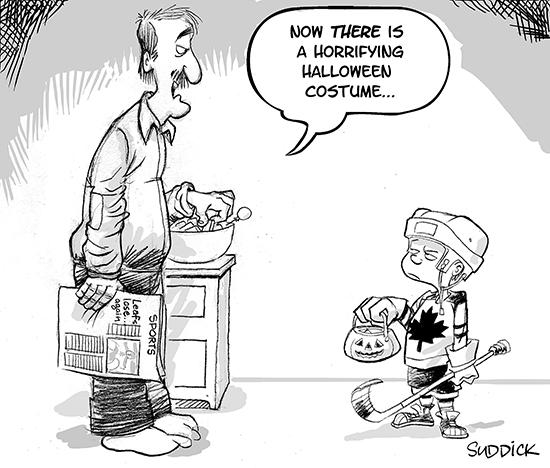 suddick classic-Leafs costume