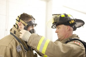 Toronto Fire Services Hosts Media at Training Facility