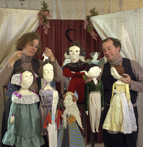 Puppetmongers, Ann and David Powell
