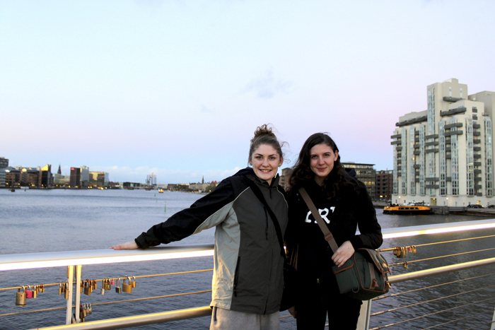 Sisters Kimberly, left, and Jennifer Taylor won spots on a trip to Copenhagen last year. Kimberley's photo, below left, and Jennifer's, below right, were chosen along with two others from entries across Canada.