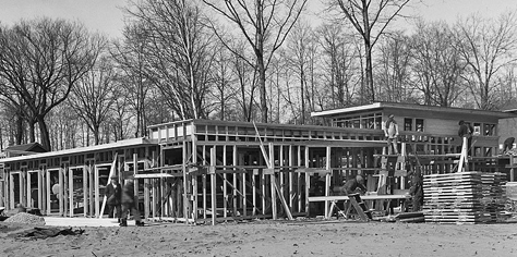 Silverbirch boathouse, 1934
