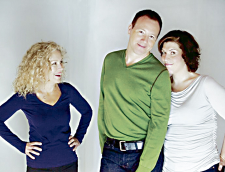 Patti Loach, Brad Hampton and Ellen Bodie