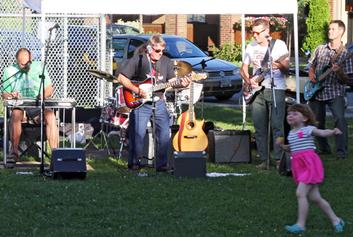 The Lost Boys play at the Fairmount Park farmer's on July 24. PHOTO: Andrew Hudson