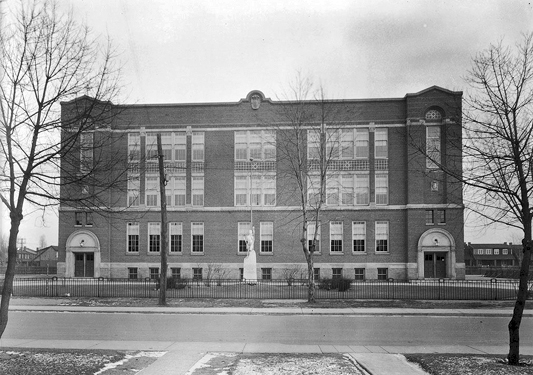 Malvern Collegiate Institute in the 1930s