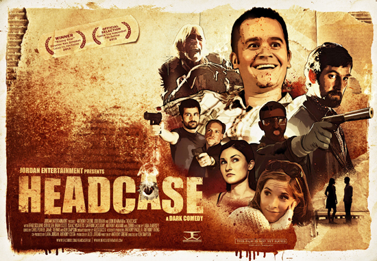 Poster art for Headcase, which opens in Toronto on Friday after a five-year wait.