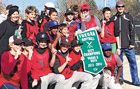 Bowmore wins city softball championships