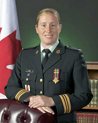 Major Rebecca Evans
