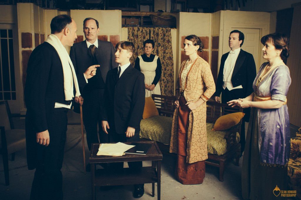 A scene from The Winslow Boy. PHOTO: Sean Howard