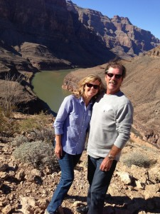 Lea and Vince Parrell on a recent trip to the Grand Canyon. PHOTO: Submitted