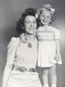 Mary Franklin with her daughter Doreen PHOTO: Submitted