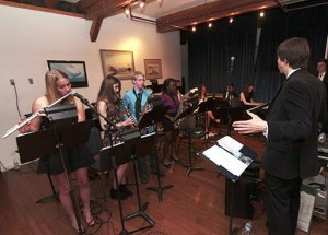 Malvern's junior jazz band plays at the school's annual Boardwalk Ball at Bluffers Park on June 6. PHOTO: Andrew Hudson