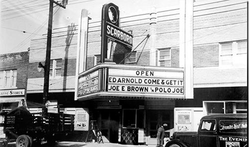 The Scarboro Theatre Photo City Of Toronto Archives