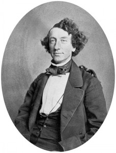 Sir John A. Macdonald in 1858