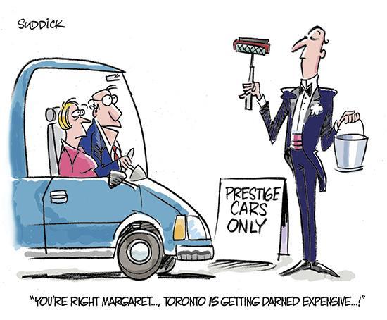 Wheels cartoon for May 12