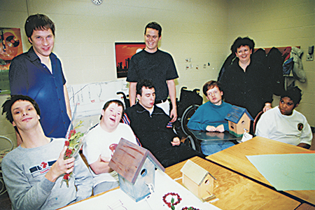 A Pegasus group is shown back in the early days at the Beaches Rec Centre, one of several community centres that make it easy for members to get involved in the community at large. PHOTO: Beach Metro News file photo