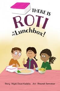 Books-roti in my lunchbox