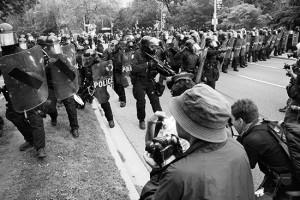 G20 police in Toronto, 2010. PHOTO: Christopher Manson