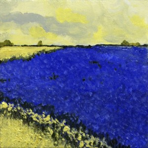 Flax and canola morning, by Jacquie Gillespie