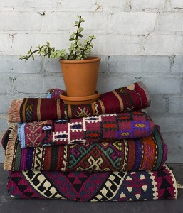 Turkish kilims can add colour to neutral spaces. PHOTO: The Wanderly