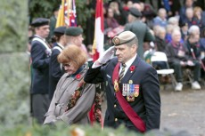 Remembrance Day at Kew Gardens