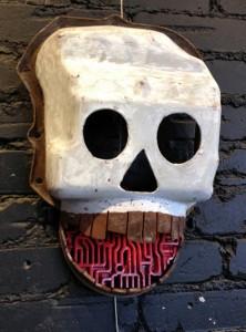 Mask by Jeff Mann.