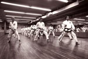 A class at Jong Park Tae Kwon Do. PHOTO: courtesy Jong Park