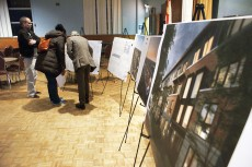 Plans for development at Dundas and Coxwell were unveiled at a community meeting Feb. 2, 2016.