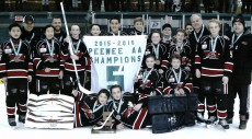 The Ted Reeve Thunder are the 2015-2016 Peewee AA Silver Stick champions.