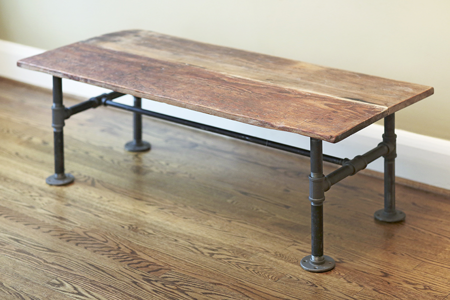 Build a diy pipe dream of a table beach metro community news for Plumbing pipe desk plans