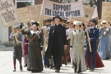 Arwen Humphreys' character Margaret Brackenreid, at right, has seen an increase in airtime on CBC's Murdoch Mysteries as fans have latched onto her narrative.
