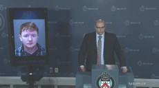 Toronto Police Sex Crimes Unit officer Remo D'Antonio outlines new charges laid against Daniel Harker, 23.