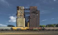 art-f8-Margit Koivisto -  Grain Elevators, Lake Superior