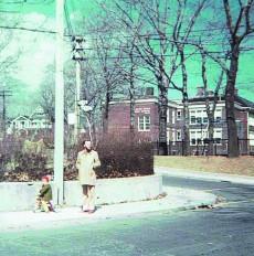 Balmy Beach School NE corner Balsam @ Pine 1970