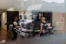 Toronto, CAN., 26 May 2016 - Toronto Police, along with city by-law enforcement officers, raided several marijuana dispensaries in The Beach and across the city as part of Project Claudia.
