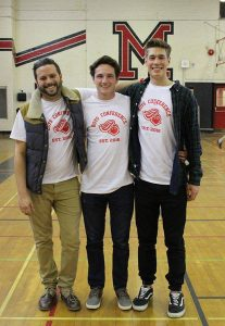 Mike Izzo, Liam Walsh and Eric Shuell
