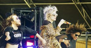 Woodbine Park was filled with music during Bestival.