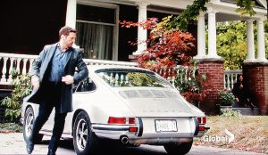 Jason Priestley is shown on location in the Beach alongside a car that might just occasionally steal the show. 'Private Eyes' is not the only production taking advantage of the East End to film, according to film columnist Bernie Fletcher.
