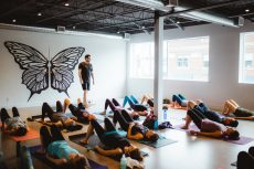 Afterglow Studio offers a variety of yoga instruction in its new 3,000 square foot facility on Queen Street East at Lee Avenue.