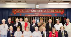 Members of the Royal Canadian Legion, Branch 11.