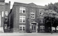 Kew Park Mansions on Queen Street East in 1995.
