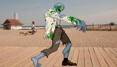 1st annual Beach zombie walk 2016