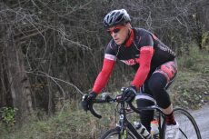 Beaches Cycling Club member Jason Shuker, 47, trains 10 to 20 hours per week. PHOTO: Howard Calvert