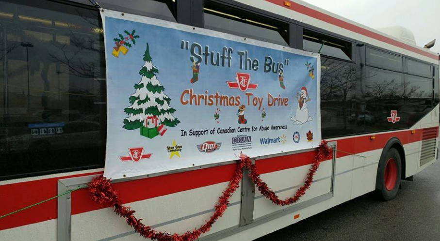 Stuff The Bus Toy Drive In Leslieville Will Gather