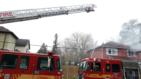 UPDATE: Two men suffer minor injuries in house fire on