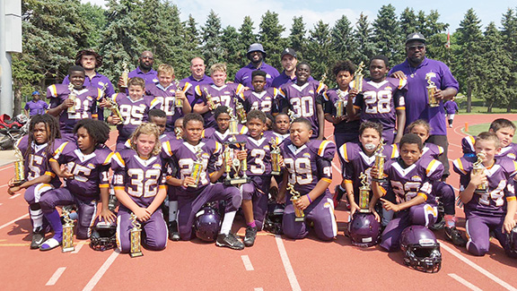 Scarborough Thunder football sends three teams to play at Hall of Fame tournament in Canton, Ohio - Beach Metro News